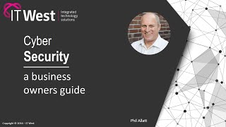 The Business Owner's Guide to Cyber Security