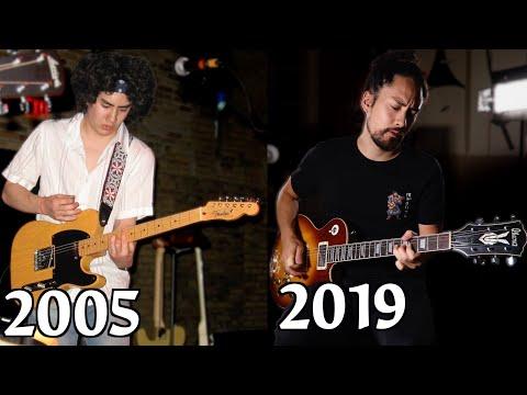 14 Years Of Guitar Progress
