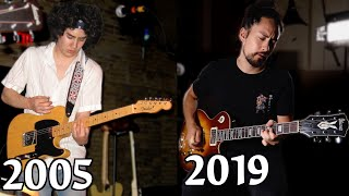 14 Years Of Guitar Progress