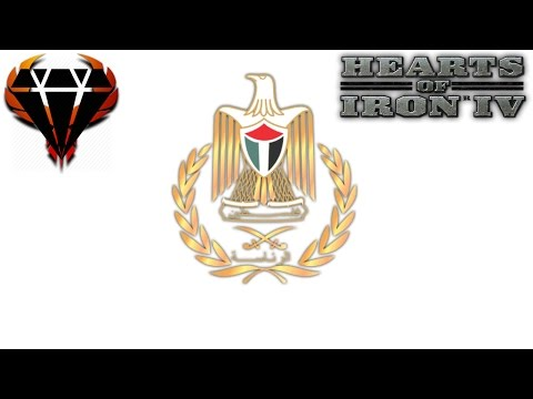 Hearts of Iron 4 - Modern Day Mod 2017 - Hamas Palestine - Starting with nothing! #1