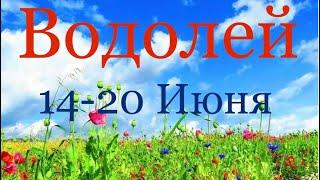 Водолей ♒️ Таро-прогноз на неделю с 14-20 Июня 2021 года
