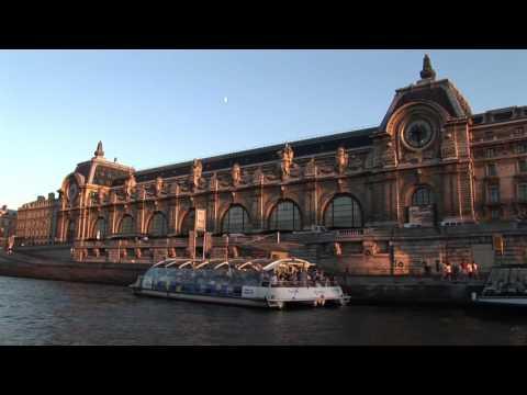 Paris boat ride on the Seine