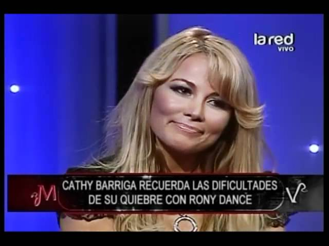 Cathy Barriga sobre Rony Dance: