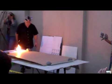 Gunpowder Artist, Robert Weibel shows us how it