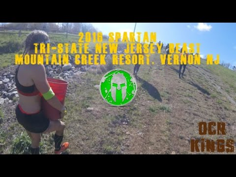 Spartan Beast 2016 (All Obstacles)