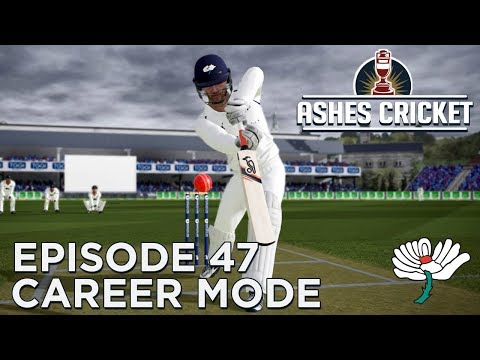 ASHES CRICKET | CAREER MODE #47 | ENGLISH COUNTY DEBUT!