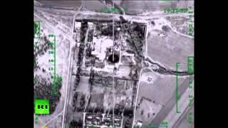 Минобороны опубликовало видео ударов ВКС РФ по нефтехранилищам террористов в Сирии