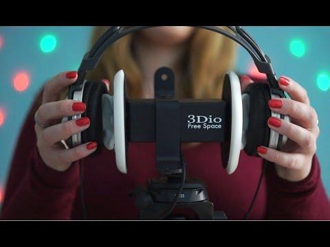 Binaural ASMR. Headphones over your Head #2 (3Dio Version)