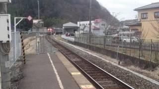 仙石線配給その2曽波神駅通過