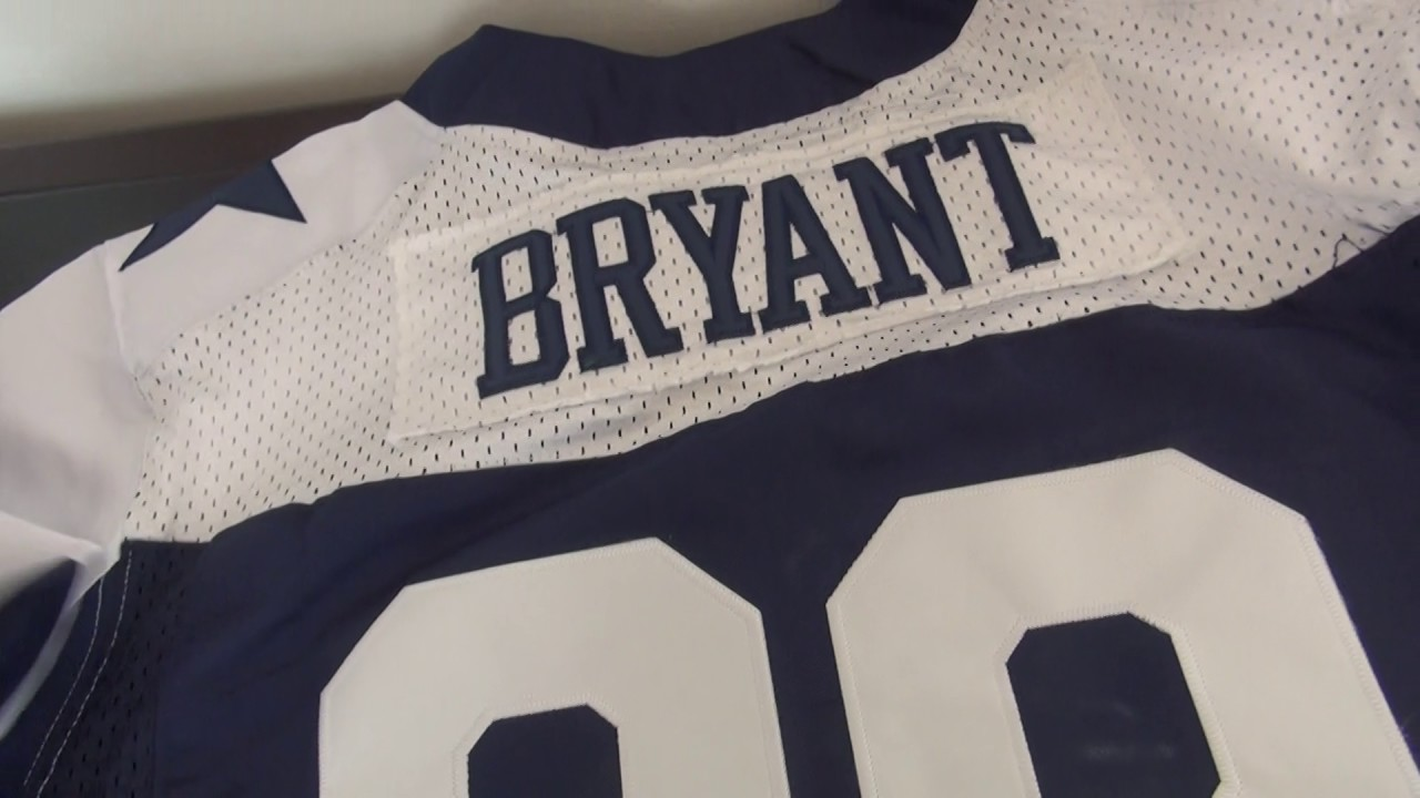 new products dfbf2 30f24 Nike Dallas Cowboys Jersey 88 Dez Bryant Blue Thanksgiving elite Jerseys