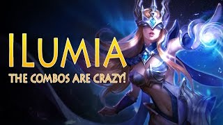 Strike of Kings: THE COMBOS ARE CRAZY! Ilumia [MA Mid] Gameplay