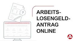 eServices Geldleistungen – Arbeitslosengeld (SGB III) online beantragen