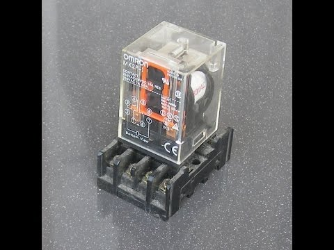 How to operate relay omron mk2p 220vac youtube how to operate relay omron mk2p 220vac ccuart