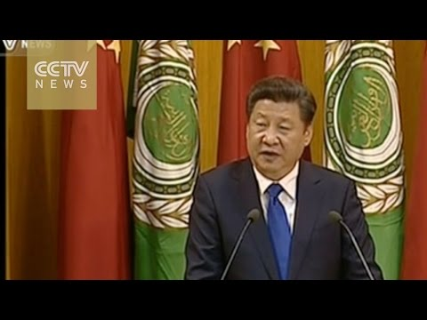 President Xi Jinping delivers speech at Arab League HQ in Cairo