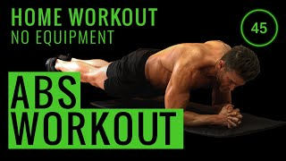 10 MINUTE ABS WORKOUT | No Equipment Home Workout
