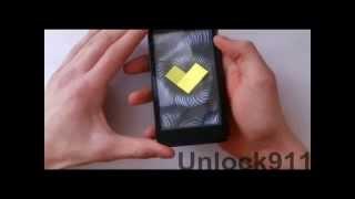 Huawei Ascend G600 Honor Pro - Разлочка от оператора. Unlock911