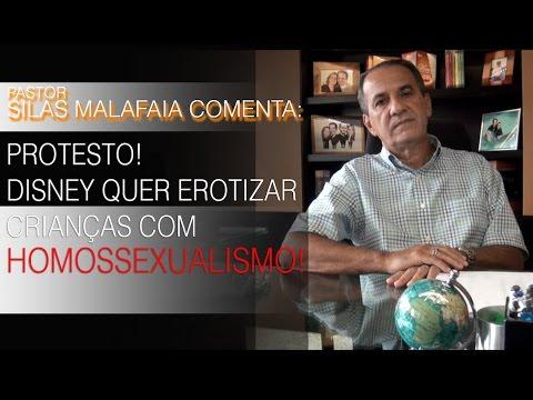 Protesto! Disney quer erotizar crianças com homossexualismo!' Pr. Silas comenta