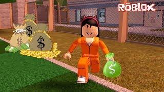 Roblox-ROBBING the Bank (Jailbreak) | Sophie Games