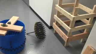 How to make a chicken plucker machine