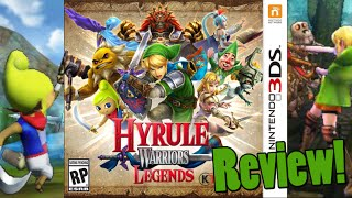 Review of Hyrule Warriors Legends for Nintendo 3DS by Protomario