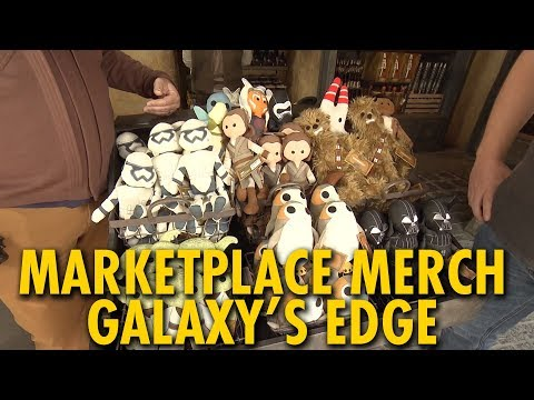 Exploring the Merchandise of the Marketplace | Star Wars: Galaxy's Edge | Disneyland
