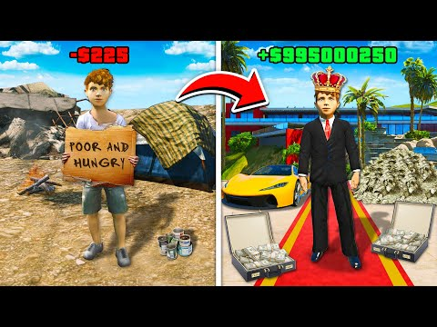 POOR KID vs MEGA RICH KID In GTA 5 RP! (Mods)