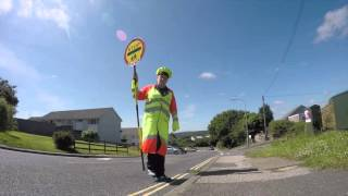 School crossing patrols in Cornwall - could you be a lollipop person?