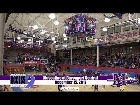 Muskie Basketball at Davenport Central