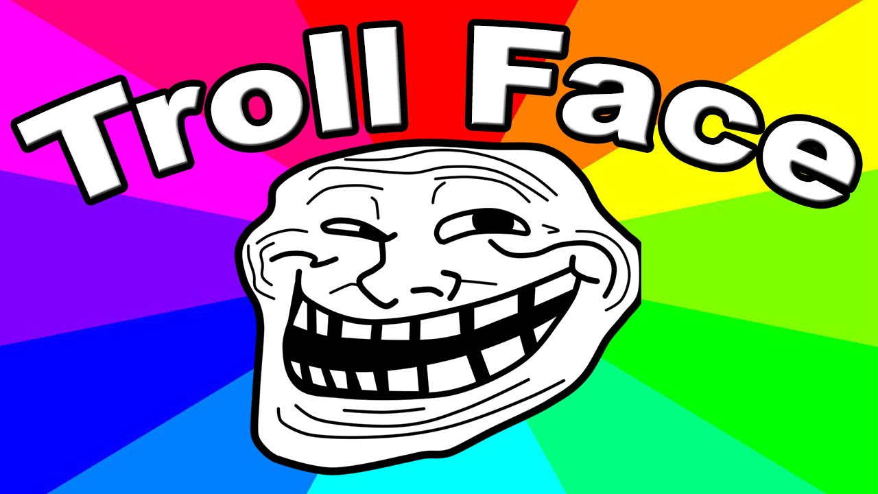 Crying Troll Face Meme Name | Humourew