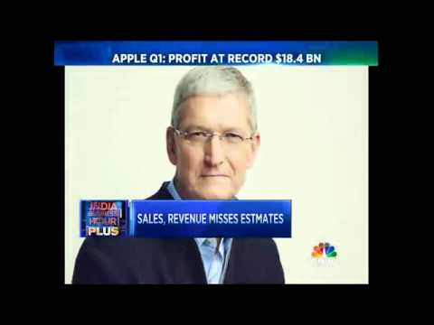Apple Q1 Revenue At All Time High