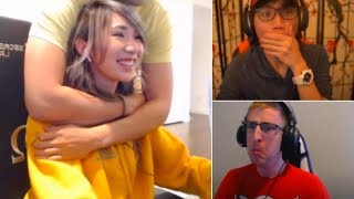 doublelift Forgot his Girlfriend was Streaming | BoxBox Reacts to Unusual Interaction | LoL Moments
