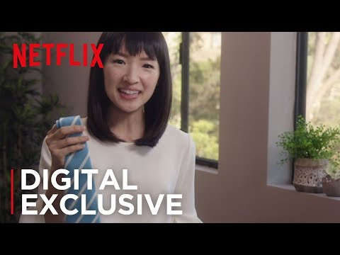 How To Store Neckties | Tidying Up with Marie Kondo | Netflix