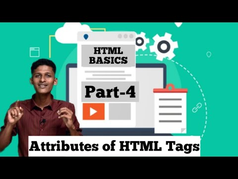 Attributes Of HTML Tags |HTML Basics For Beginners | Web Designing | Part - 4 | Safeonnet