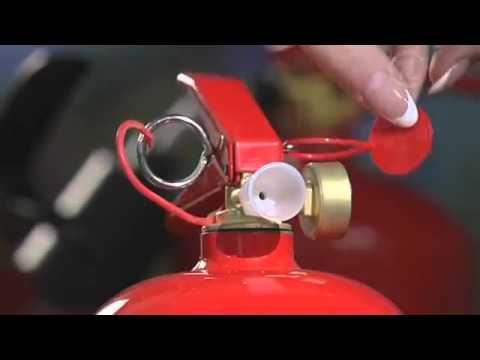 Огнетушитель автомобильный, для легкового автомобиля