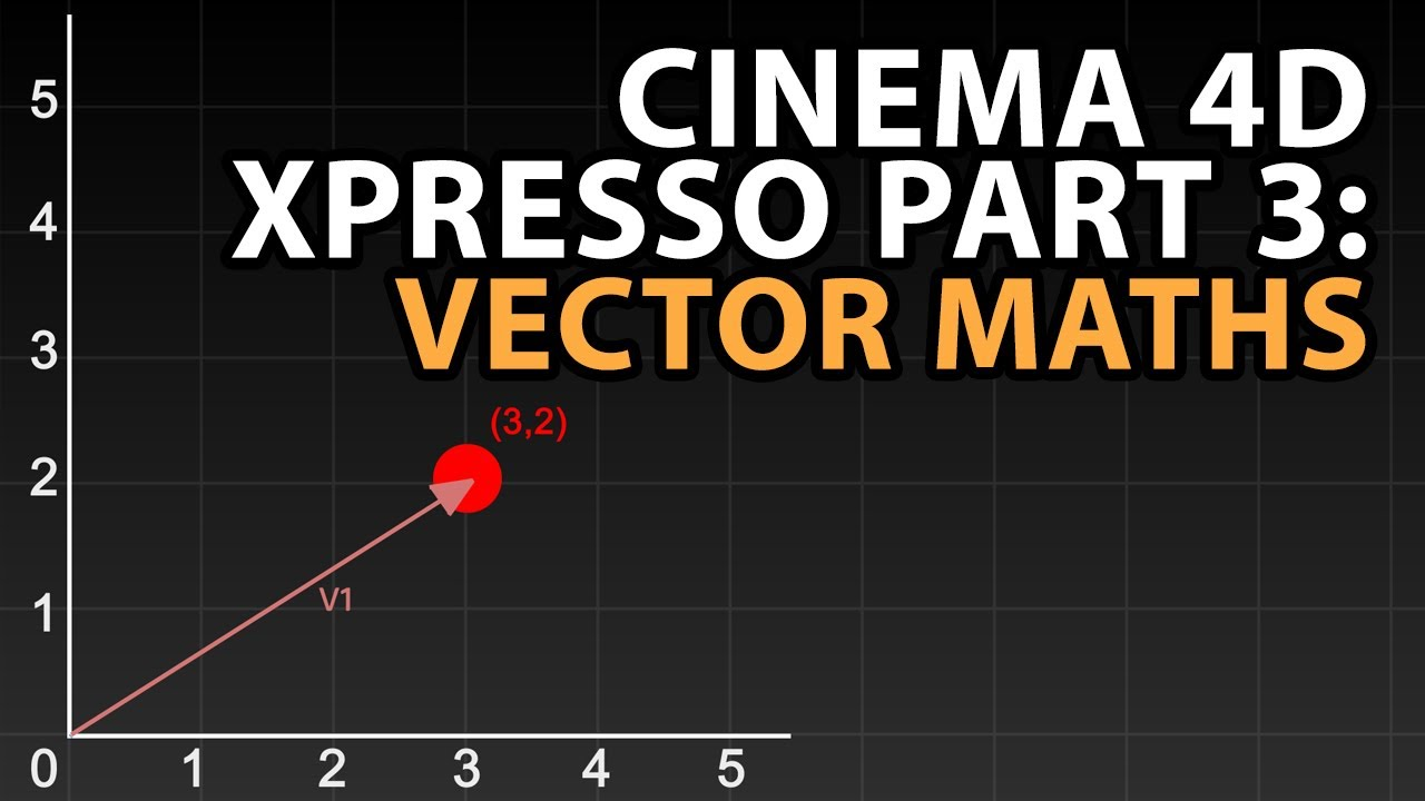C4d Tutorial Using Xpresso Part 3 Vector Maths Youtube Math Vector Math Teaching Math Adding vectors graphically worksheet pdf
