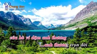 [KARAOKE HD] Câu Đợi Câu Chờ - Beat phối - Anh Thơ