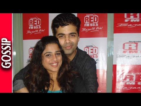 Karan Johar Enjoys Engagement With RJ Malishka - Bollywood Gossip 2016