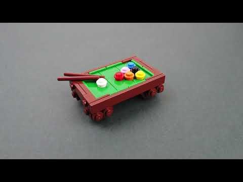 LEGO бильярдный стол Инструкции