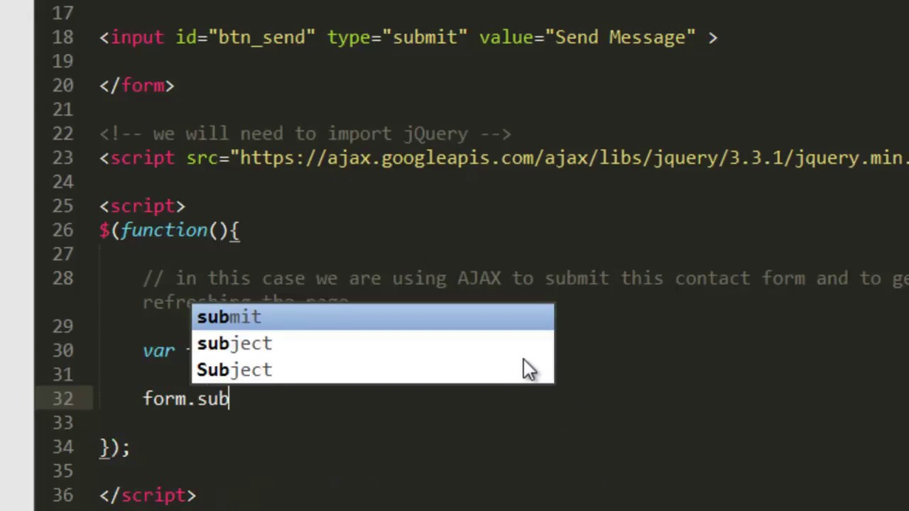 How to Submit Form Using PHP, JSON, AJAX and jQuery
