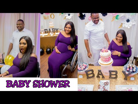 OUR SURPRISE BABY SHOWER | TheDIYLady