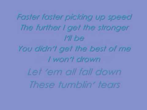 Tumblin' Tears One More Girl Lyrics