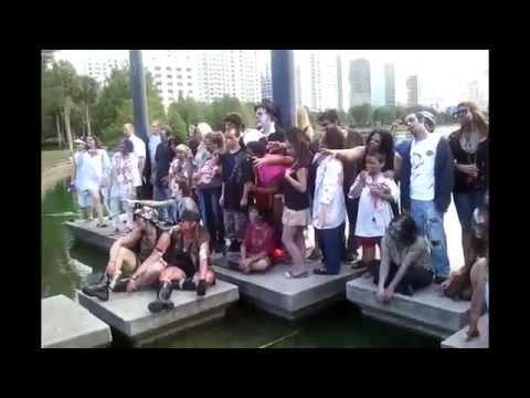 № 896 США Ужасы нашего Городка Зомби Dead People Walking 29.05.2011