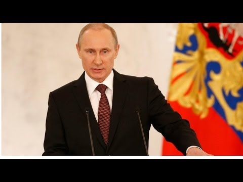 Putin Signs Treaty Annex Crimea, and More