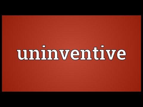 Header of uninventive