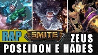 Rap dos Gods - Zeus, Poseidon e Hades - Méqui Huê [Smite]