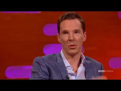 Benedict Cumberbatch Spilled Star Trek Secrets to Stephen Hawking  The Graham Norton