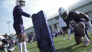 Footage From Auburn's 1st Spring Practice Of 2021