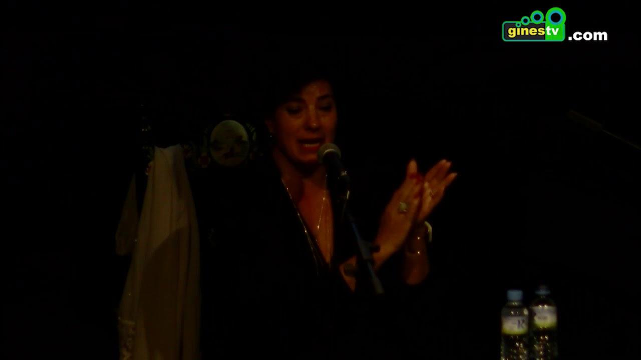 Rocío Hurtado en el Festival Flamenco de Gines 2017