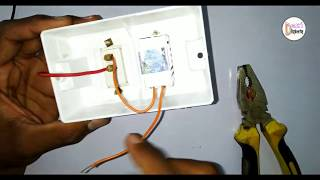 Fan Regulator Connection | Installation of fan regulator by desi engineering