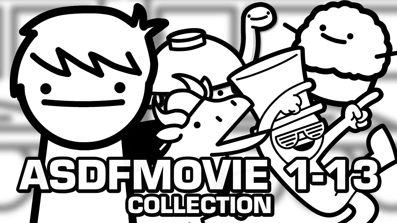 Download asdfmovie 1-13 (Complete Collection)